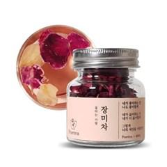 [포이티] 무농약 꽃차 장미차