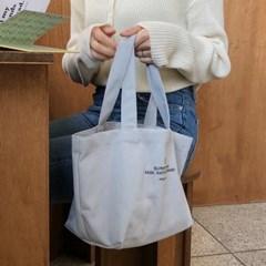 Basic mini canvas bag ( sora )