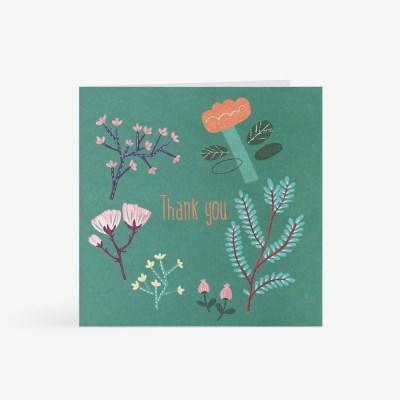 나무꽃 감사 카드
