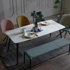 [스코나]빌링스 1800 스톤 세라믹 식탁 테이블_(602772418)