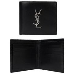 20SS 생로랑 모노그램 클래식 반지갑 (올블랙) 604011 0SX0E 1000