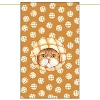 한폭노렌(입구커튼) - 멜론빵고양이 (51✕81cm)