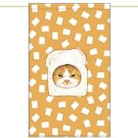 한폭 노렌(입구커튼) - 식빵고양이 (51✕81cm)