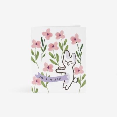 토끼선물 카드