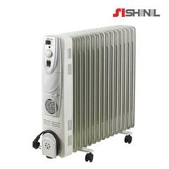 신일 전기 라디에이터 15핀 청정난방 온풍팬기능 SER-K30LF