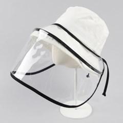 [베네]국내제작 바이러스 차단 페이스보호 우레탄 모자 덮개