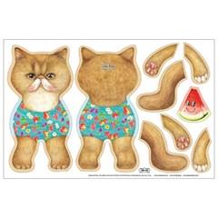 인형만들기 DIY커트지 - 나를 바라보는 고양이 No.11