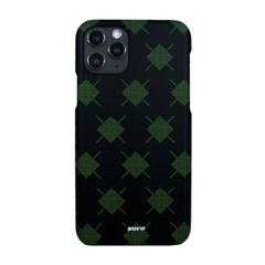 아가일 패턴 프린트 핸드폰 케이스