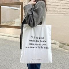 프렌치 레터링 에코백 french lettering eco bag