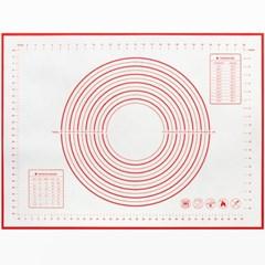 세븐프리 실리콘 반죽매트 특대형50x70cm 레드_(3064257)