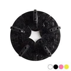 NEW 팁스탠드 원형/분리형(패턴)-블랙/핑크/옐로우/옵션_(4165150)
