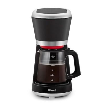 위즈웰 드립 커피머신 WC1162 원두 커피 메이커 기계 머신