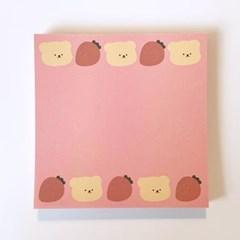 [밤토리상점]딸기 떡메모지