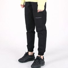 (UNISEX)Creamy Jogger Sweatpants(BLACK)_(1473816)