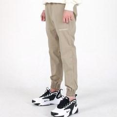 (UNISEX)Creamy Jogger Sweatpants(SOFT KHAKI)