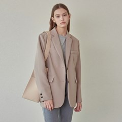 CHIC STANDARD SINGLE JACKET_BEIGE