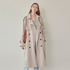 LOOSE-FIT DOUBLE TRENCH COAT_BEIGE