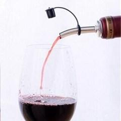 소믈리에 와인캡 푸어러1개(색상랜덤)