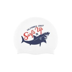 Shark Swimcap White