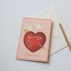 카발리니카드-valentine bird