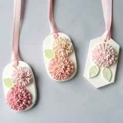 카네이션 석고방향제(3colors)