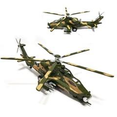 사운드 불빛 코브라 헬기 미니카