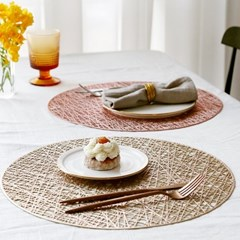 화사한 식탁 PVC 방수 테이블 매트 4type