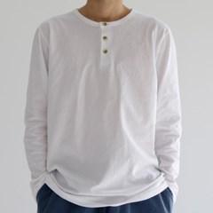 무지 긴팔 티셔츠 기본티 라운드 면티 남자 여자 공용