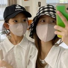엄마랑딸커플 빨아쓰는 중형 소형 일회용 아동 일반면마스크