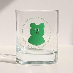 lazybear glass 300ml_green