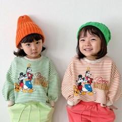 핑) 디즈니정품 단가라 미키와친구 주니어 맨투맨