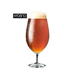 크로스노 하모니 400ml 6P 맥주 고블렛 물잔 크리스탈