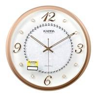 카파 C141 무소음 주얼리장식 인테리어벽시계 골드_(1545695)