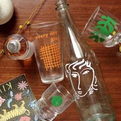 [텐텐클래스] (합정) 홈까페를 위한 유리컵 실크스크린