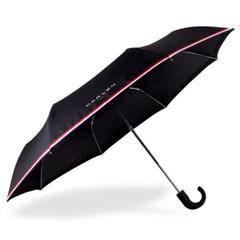 까르벵 완전자동 곡자 트리컬러 3단우산