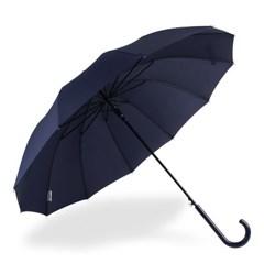 까르벵 12살대 솔리드 곡자 자동 장우산