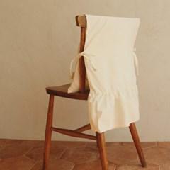내추럴 광목 프릴 의자 등커버(40x80)1개_(11568183)