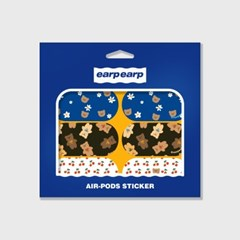 Earpearp air pods sticker pack-yellow_(1500399)