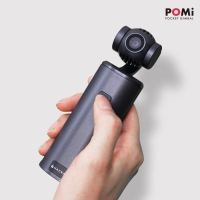 [해외직구] POMi 포켓 짐벌 3축 스테빌라이저 탑재 4K 카메라