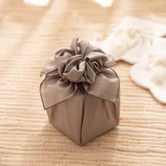 [데코봉봉]보자기 포장 완제품(카키)