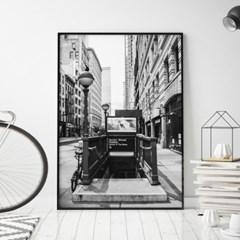 서브웨이 뉴욕 사진 액자 인테리어 그림 포스터