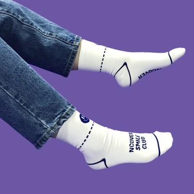 Smile club socks-white_(1502424)
