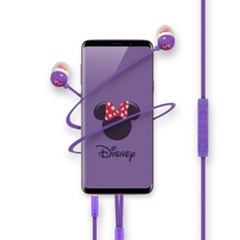 Disney 여성을위한 커널형 스마트폰 리모트 이어폰 M2_(1163582)
