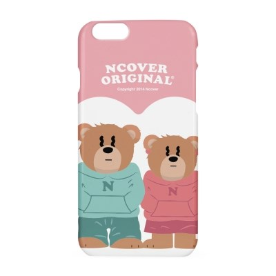 Couple hoodie bruin(blow-up)-pink(hard)_(1502672)