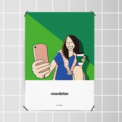 커피5 M 유니크 인테리어 디자인 포스터 카페