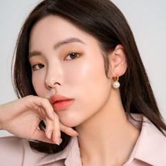 [아르띠] big pearl earring