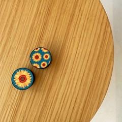해바라기 버튼톡