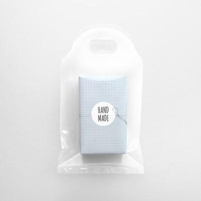 투명 라운드 비닐백(10개)