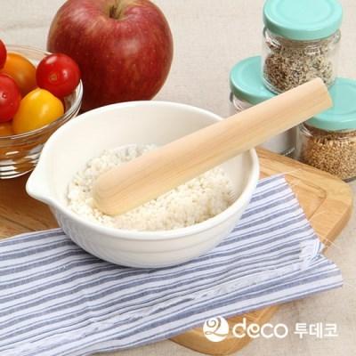 투데코 편백나무 절굿공이 단품