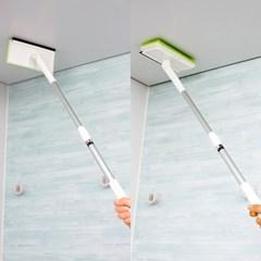 [LEC] 길이조절 와이퍼 욕실청소솔 크리너 [S-365]